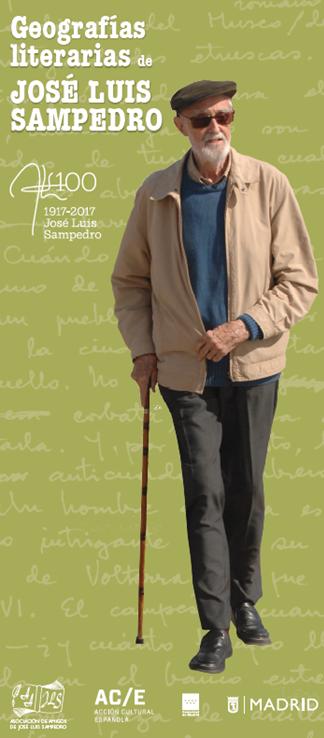 Exposición «Geografías literarias de José Luis Sampedro»